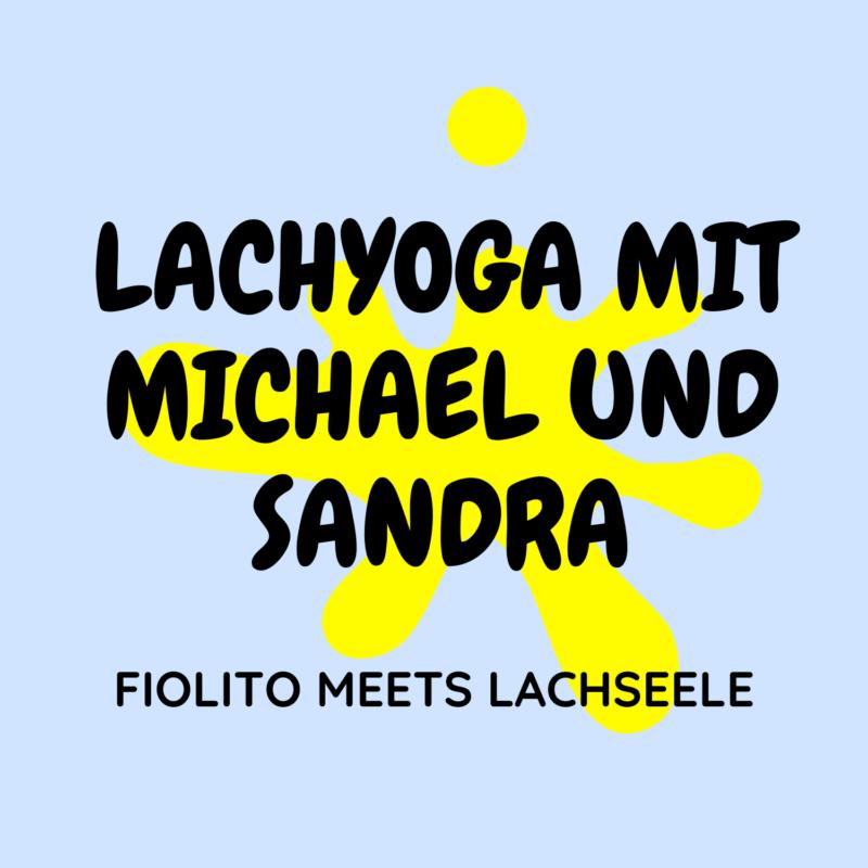 Logo Lachyoga mit Michael und Sandra